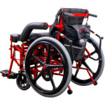 manual power wheelchair in sitting position (thumbnail)