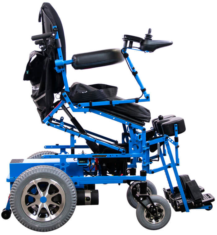 full-power standing wheelchair