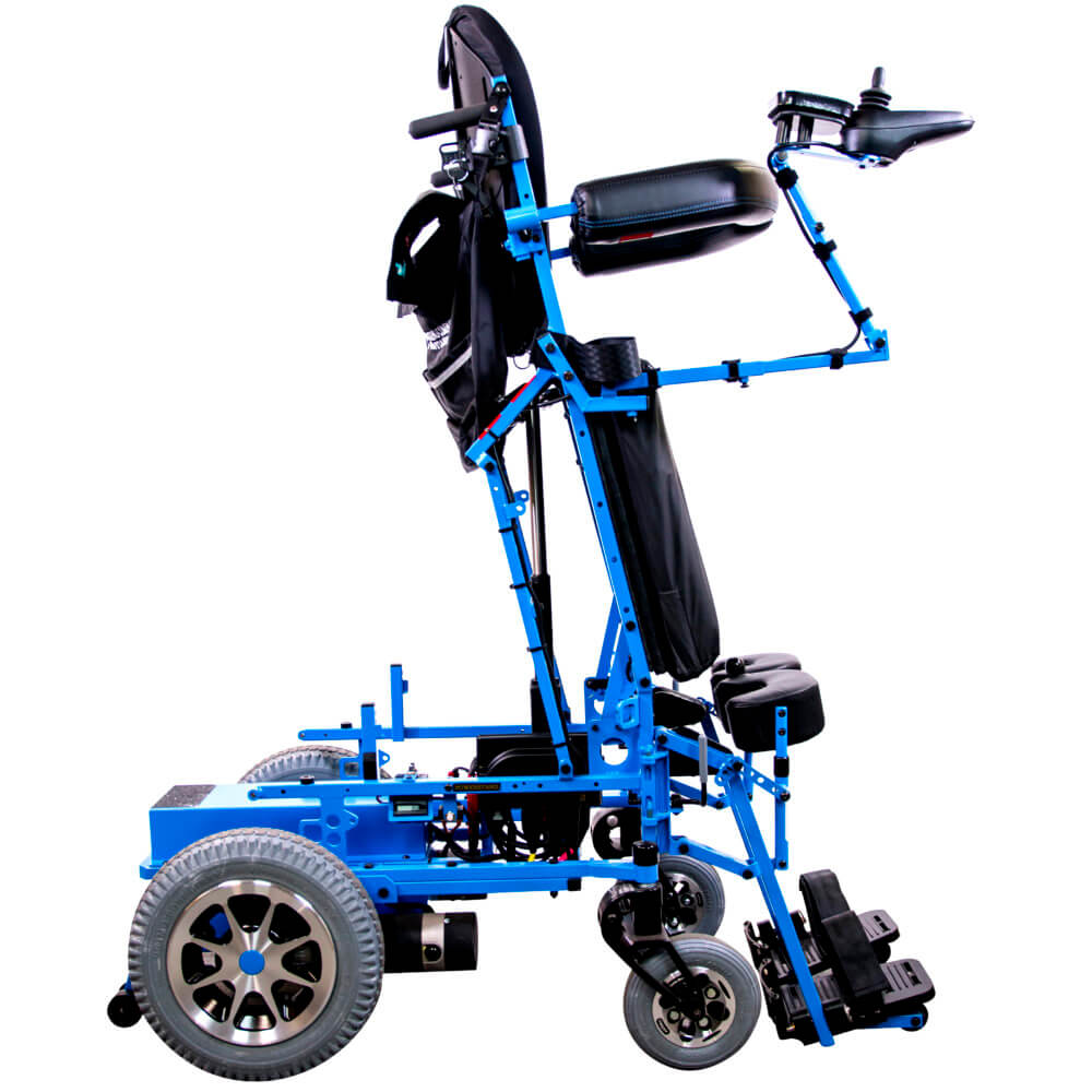 full power standing wheel chair standing position