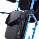 close-up of full-power wheelchair in standing position (thumbnail)